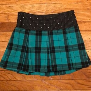 Girls' Plaid Skirt